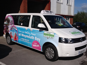 Taxi wrap for Haven