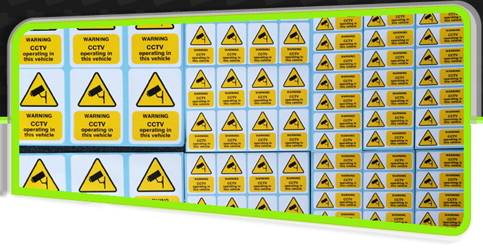 Stickers and Labels with Impact Signs Dorset